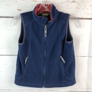 L.L. Bean | Fleece Vest, Size Little Boys L 6X/7